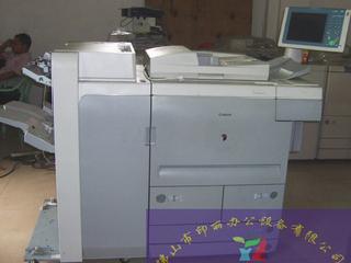 单位换下两台高速复印机canon105每分钟105张带大液晶屏幕