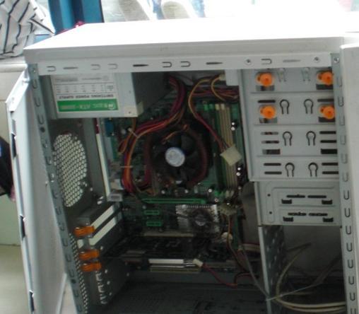 电脑光驱怎么接线